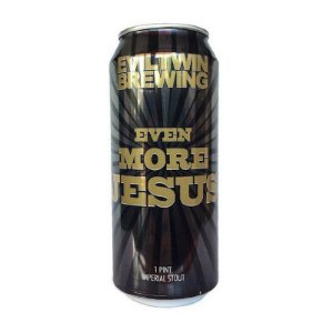 Cerveja Evil Twin Even More Jesus Imperial Stout Lata - 473ml