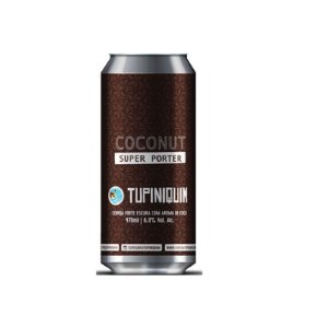 Cerveja Tupiniquim Coconut Super Porter Robust Porter Lata - 473ml