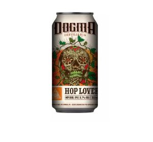 Cerveja Dogma Hop Lover Imperial IPA Lata - 350ml