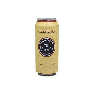 Cerveja Three Monkeys Classic IPA American IPA Lata - 473ml