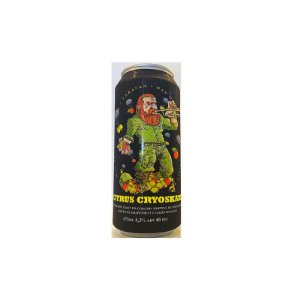 Cerveja Heróica, Caravan & Mad Dwarf Citrus Cryoskade Double West Coast IPA Lata - 473ml
