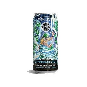 Cerveja Satélite CryoSat P01 Juicy IPA c/ Cryo Hops Lata - 473ml