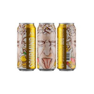 Cerveja Dogma Sourmind Maracujá e Manga Berliner Ryesse Lata - 473ml