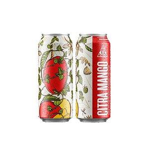 Cerveja Dogma Citra Mango American IPA C/ Manga Lata - 473ml