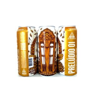 Cerveja Dogma Prelúdio 01 American IPA Lata - 473ml