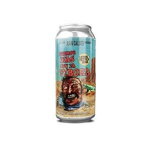 Cerveja Juan Caloto Buenos Dias Con La Vibora Lemon Pepper Gose Lata - 473ml