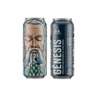Cerveja Dogma Genesis Double IPA Lata - 473ml
