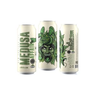 Cerveja Infected Brewing & Bicudo Brewing Medusa Affair New England IPA Lata - 473ml