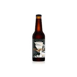 Cerveja Júpiter & Cervejaria Nacional Macchiato Porter C/ Café e Lactose - 355ml