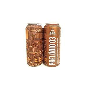 Cerveja Dogma Prelúdio 03 Imperial IPA Lata - 473ml