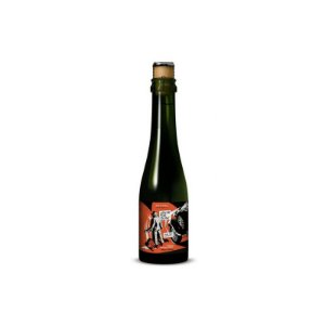 Cerveja Mafiosa Leave The Gun! Take The Cannoli Russian Imperial Stout C/ Casca de Laranja, Cacau, Baunilha e Pistache - 375ml