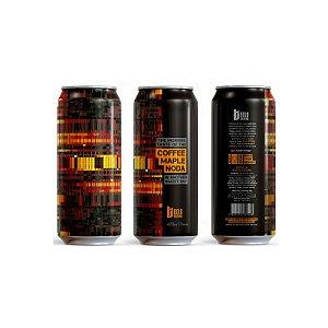 Cerveja Bold Brewing Coffee Maple NODA Russian Imperial Stout C/ Café e Maple Lata - 473ml