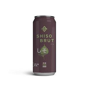 Cerveja Japas Shiso Brut IPA Lata - 473ml