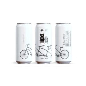 Cerveja Dádiva & Nils Oscar Triplet Triple IPA Lata - 473ml