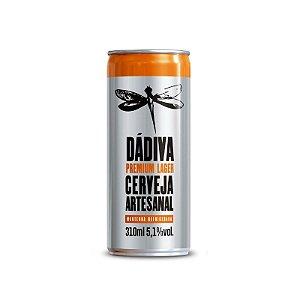Cerveja Dádiva Premium Lager Lata - 310ml