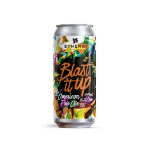 Cerveja Synergy Blast It Up New England Pale Ale Lata - 473ml