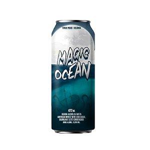 Cerveja Hocus Pocus & Oceânica Magic Ocean Wheat Wine C/ Cacau, Baunilha e Leite Condensado Lata - 473ml
