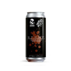 Cerveja EverBrew & Taberna MF R.I.S.M.F. Rye Imperial Stout C. Baunilha Lata - 473ml