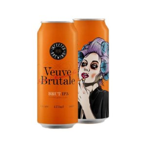 Cerveja Infected Brewing Veuve Brutale Brut IPA Lata - 473ml