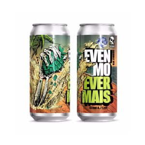 Cerveja EverBrew + Sand City Brewing Even Mo Ever Mais Double IPA Lata - 473ml