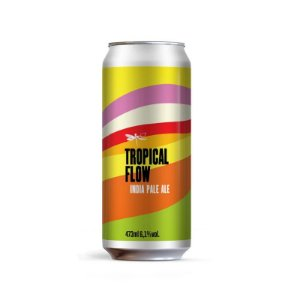 Cerveja Dádiva Tropical Flow New England IPA Lata - 473ml