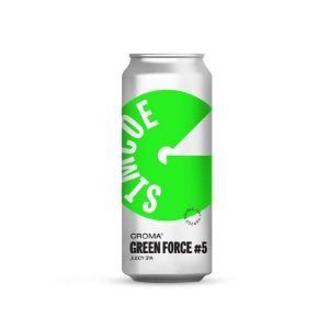 Cerveja Croma Green Force #5 Juicy IPA Lata - 473ml