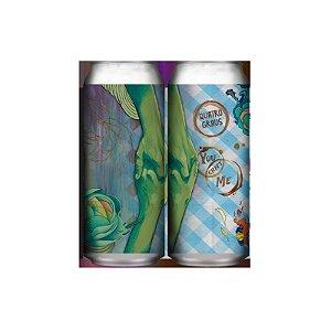 Cerveja Quatro Graus You Craft Me Imperial Stout Lata - 473ml