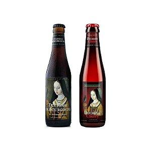 Kit Cerveja Verhaeghe Duchesse de Bourgogne + Duchesse Cherry 2 garrafas - 330ml