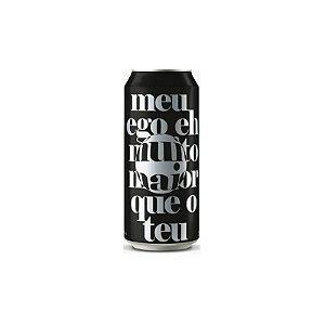 Cerveja Suricato Ales Meu Ego Eh Muito Maior Que o Teu Double New England IPA Lata - 473ml