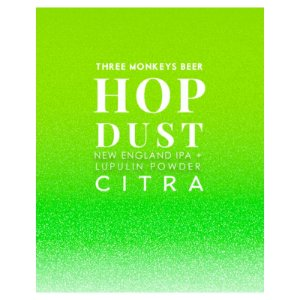 Cerveja Three Monkeys Hop Dust Citra New England IPA Lata - 473ml