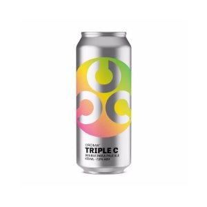 Cerveja Croma Triple C Double IPA Lata - 473ml