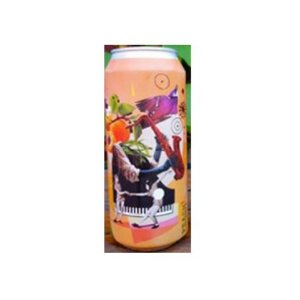 Cerveja Octopus Peach Littlefield Juicy IPA C/ Pêssego Lata - 473ml