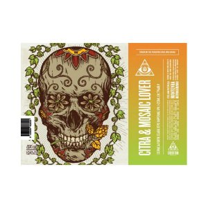 Cerveja Dogma Citra & Mosaic Lover Imperial IPA Lata - 473ml