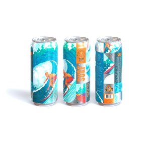 Cerveja Dama Bier Adventure Surf Triple Hazy IPA Lata - 473ml