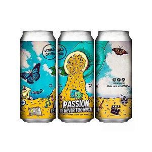 Cerveja Quatro Graus Passion Is Never Too Much Fruit Beer C/ Maracujá Lata - 473ml