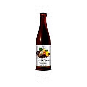Cerveja Zalaz Café e Cacau American Brown Ale C/ Café e Cacau - 500ml