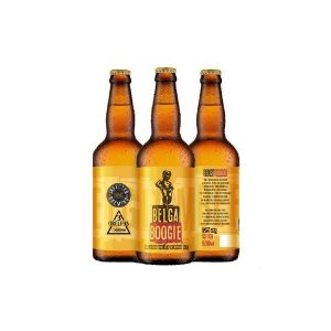 Cerveja Infected Brewing + 3 Orelhas Belga Boogie Strong Golden Ale C/ Brettanomyces - 500ml