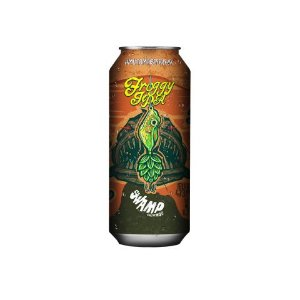 Cerveja Swamp Brewing Froggy IPA American IPA Lata - 473ml