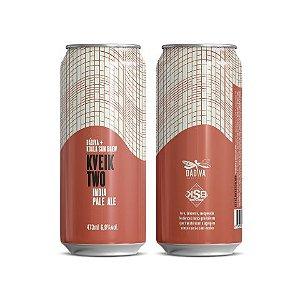 Cerveja Dádiva + Koala San Brew Kveik Two India Pale Ale Lata - 473ml