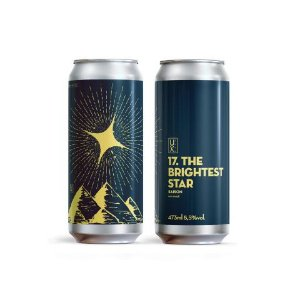 Cerveja UX Brew 17. The Brightest Star Saison Com Maçã Lata - 473ml