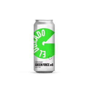 Cerveja Croma Green Force #8 Juicy IPA Lata - 473ml