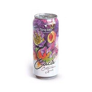 Cerveja Thirsty Hawks Cacá Catharina Sour C/ Maracujá, Pêssego e Manga Lata - 473ml