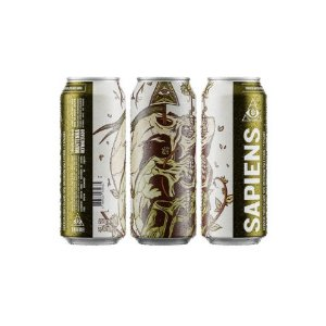 Cerveja Dogma Sapiens American IPA Lata - 473ml
