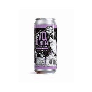 Cerveja Avós Vó Dinha A Carinhosa Rice Pils Lata - 473ml