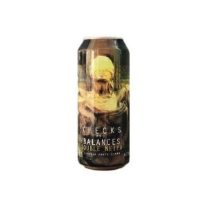Cerveja Spartacus Checks And Balances Double New England IPA Lata - 473ml