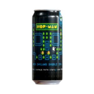 Cerveja Overhop Hop-Man Double New England IPA Lata - 473ml