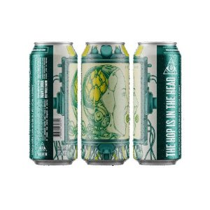 Cerveja Dogma The Hop Is In The Head Double IPA Batch #1 Lata - 473ml