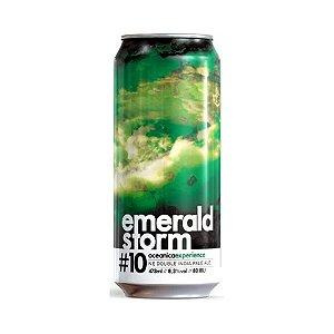 Cerveja Oceânica Emerald Storm Double New England IPA Lata - 473ml