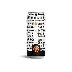Cerveja Satélite Hop Attack Citra New England IPA Lata - 473ml