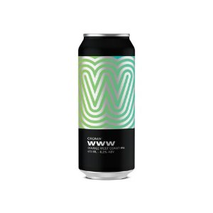 Cerveja Croma WWW Double West Coast IPA Lata - 473ml